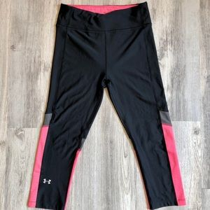 Cute Under Armour Cropped Leggings Size Small